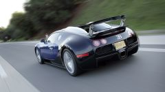 Bugatti Veyro: il posteriore