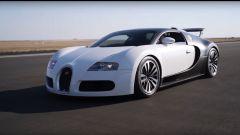 Bugatti Veyron ai blocchi di partenza