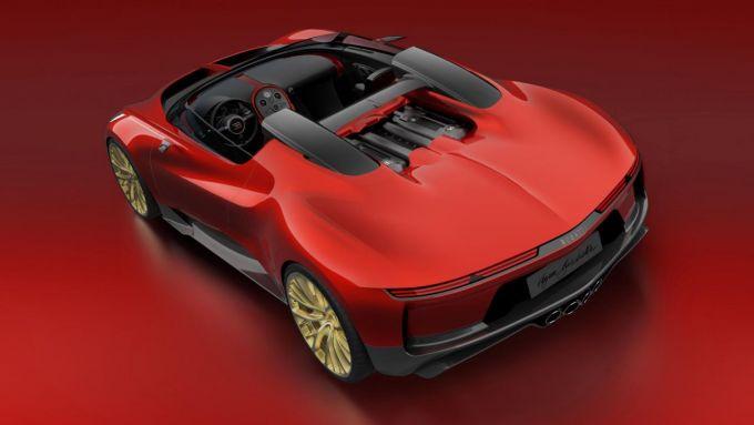 Bugatti Veyron Barchetta: la cabrio che non fu mai realizzata