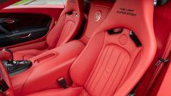 Bugatti Veyron Super Sport: i sedili