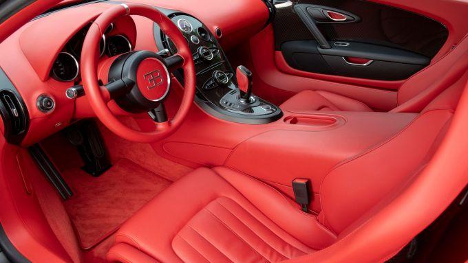 Bugatti Veyron Super Sport: interni