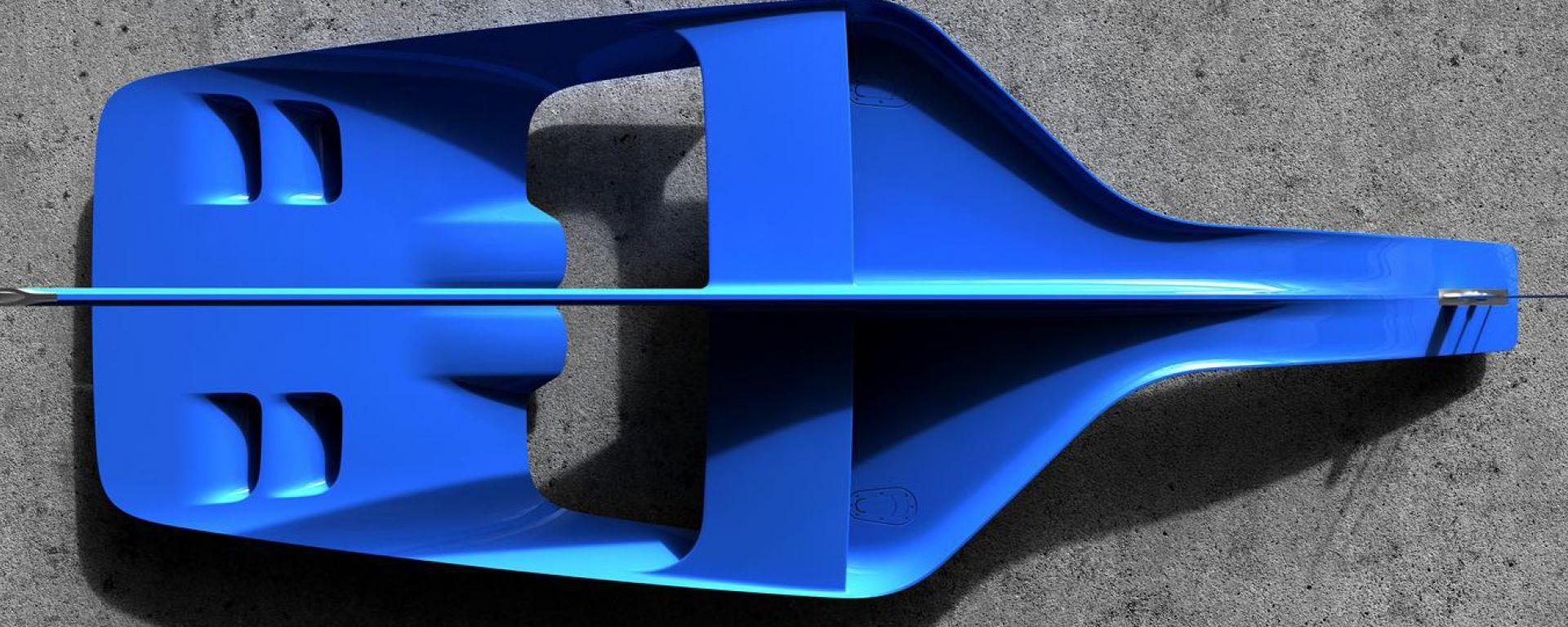 Bugatti Vision Gran Turismo: il teaser