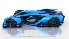 Bugatti Vision Le Mans: l'incredibile
