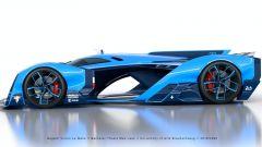 Bugatti Vision Le Mans: visuale laterale