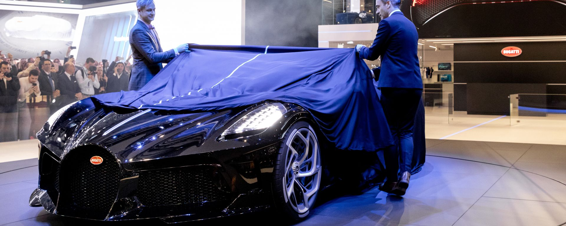 Bugatti Voiture Noire, Ginevra 2019