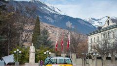 Bus a guida autonoma: il servizio sperimentale inizierà entro l'estate a Sion, in svizzera