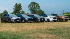C-HR, Arona, DS3 Crossback, EcoSport, Duster