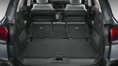 C3 Aircross restyling, il bagagliaio con i sedili reclinati