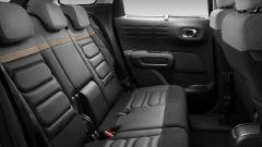 C3 Aircross restyling, il divano posteriore in uso