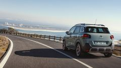 C3 Aircross restyling, visuale di 3/4 posteriore