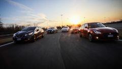 C3, Fiesta, Micra, Swift, Polo: prova confronto tra compatte