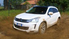 C4 Aircross - prova fango