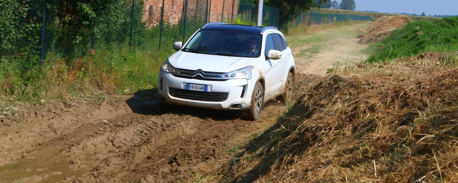 Citroën C4 Aircross: una trasmissione à la carte
