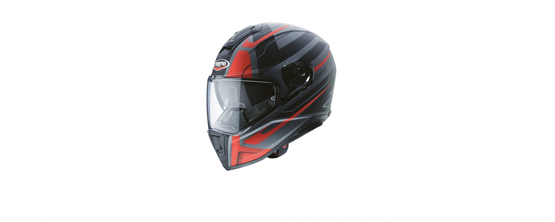 Caberg Drift-Shadow-Gun-Metal-Red-Black