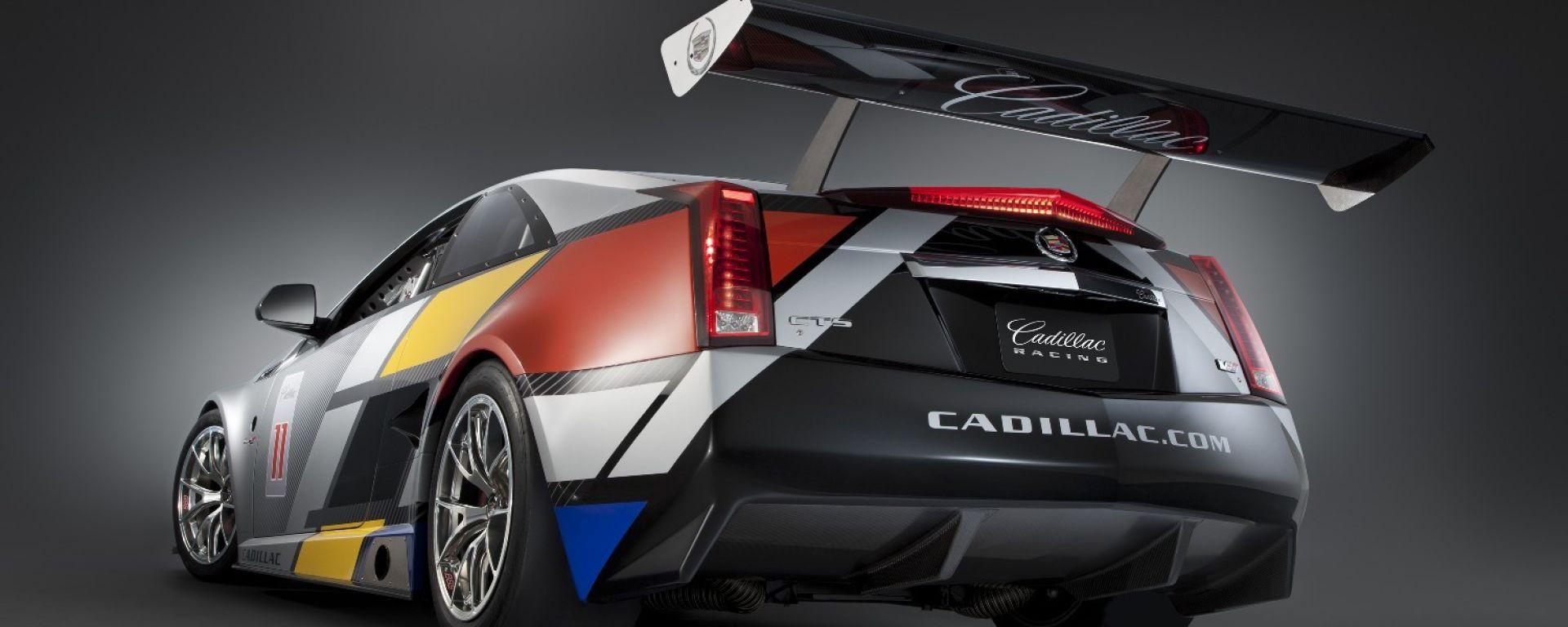 Cadillac CTS-V Coupé GT Racecar: le foto ufficiali