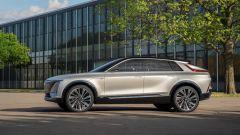 Cadillac Lyriq concept, nel 2022 il crossover elettrico. Scheda