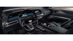 Cadillac Lyriq: l'abitacolo anteriore col gigantesco display da 33