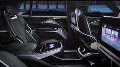 Cadillac Lyriq: l'abitacolo posteriore