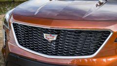Cadillac XT4: la calandra