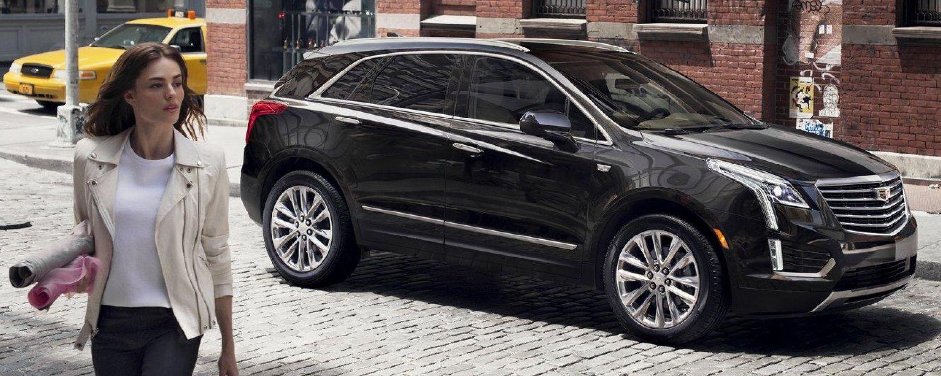 Cadillac XT5: le prime foto