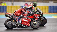 Cal Crutchlow e Andrea Dovizioso al GP Francia 2020