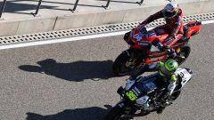 Cal Crutchlow e Andrea Dovizioso nel GP Teruel 2020