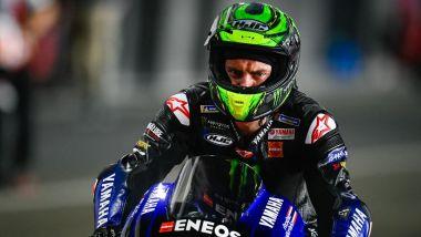 Cal Crutchlow (Yamaha) nei test in Qatar 2021