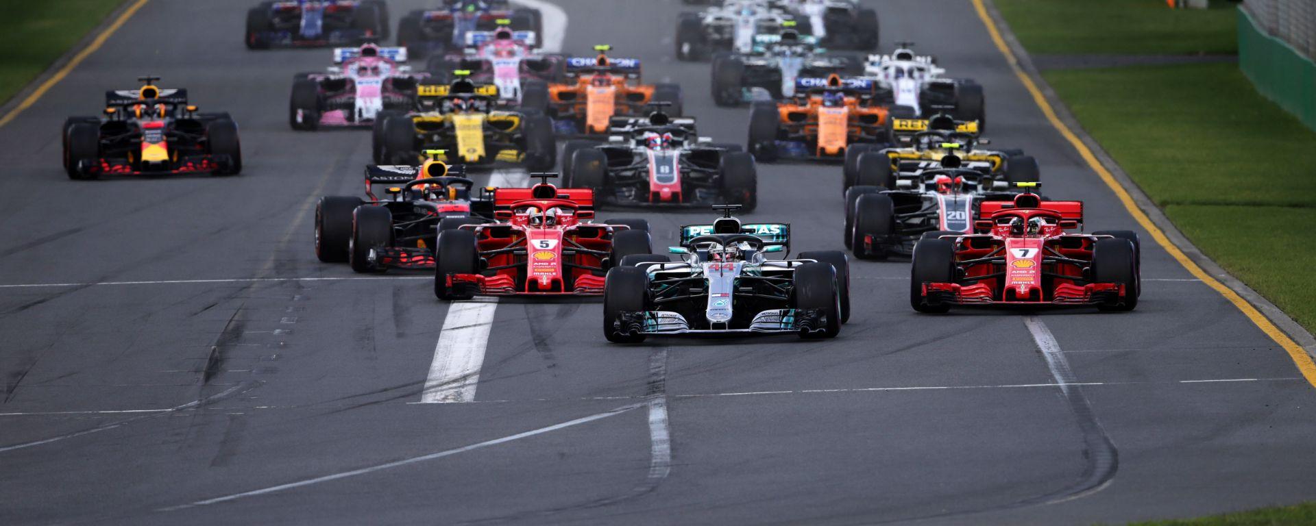 Calendario Formula 1 2019: date, orari tv e circuiti