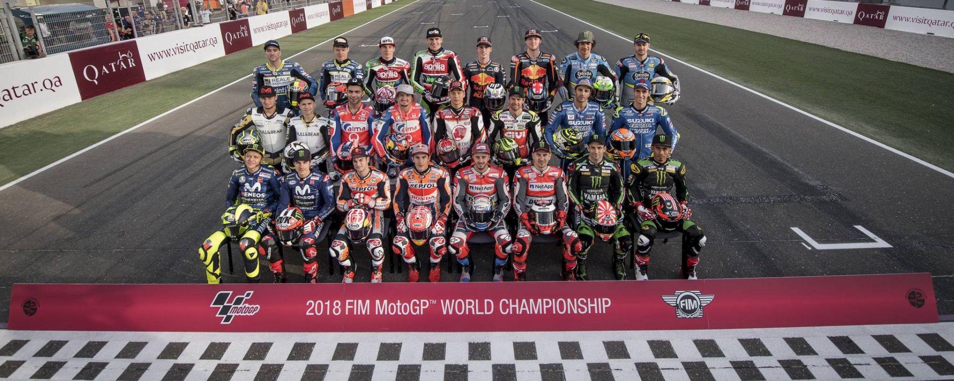 Calendario MotoGp 2018: tutti i circuiti, le date e i risultati