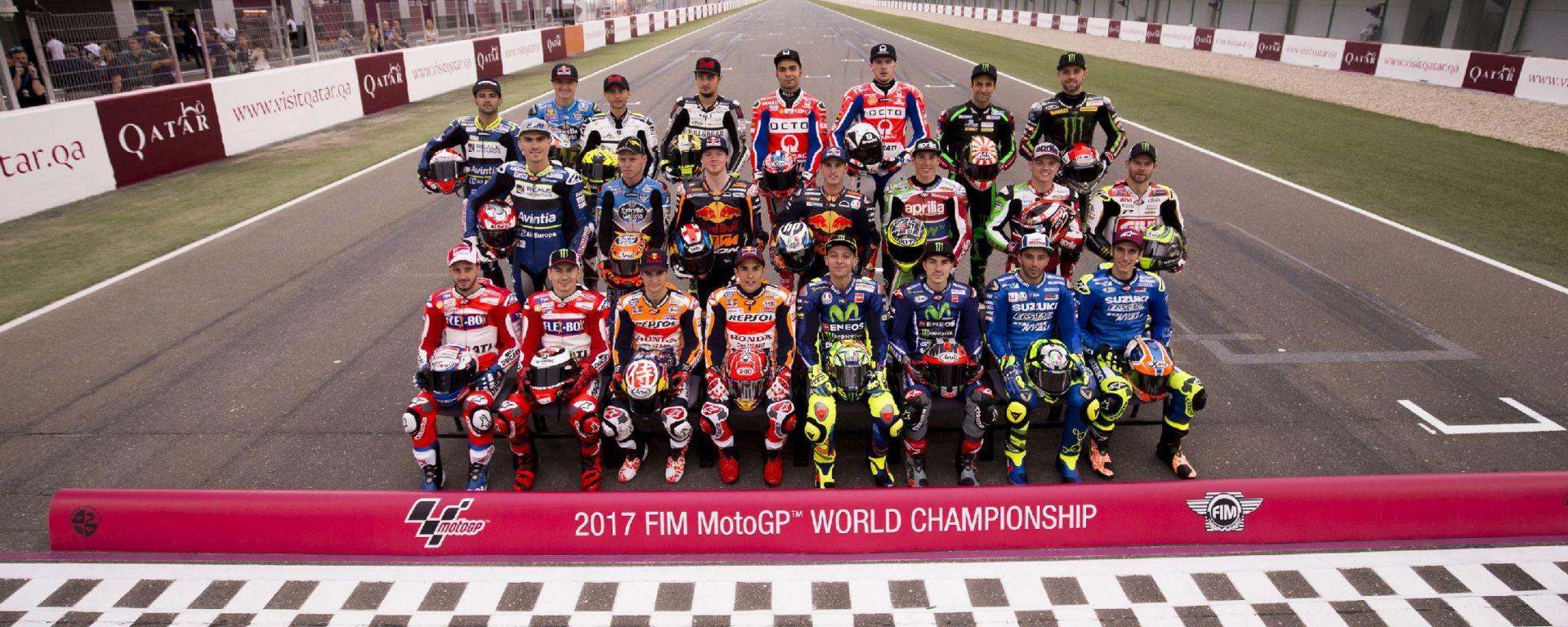 Calendario MotoGp 2017: tutti i circuiti, le date e i risultati