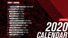 Calendario World Superbike 2020