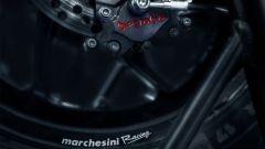 Caliper posteriore Marchesini in Magnesio, Brembo