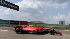 Mick Schumacher, test in pista a Fiorano con la SF71H