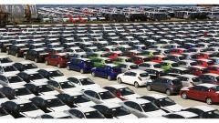 Calo per il mercato auto nel mese di agosto: i dati di UNRAE