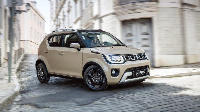 Cambia anche l'impianto ibrido di Suzuki Ignis Hybrid 2020