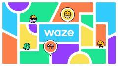 Cambiano grafica e colori di Waze