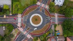 Cambridge, inaugurata la prima rotonda alla