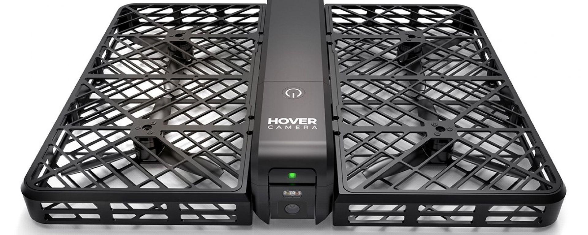 Camera Hover: i selfie facciamoceli fare dal drone