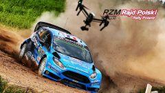 Camilli e la sua Ford al Rally di Polonia 2016