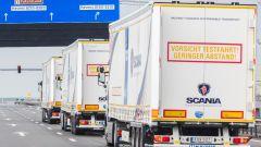 I camion robot di DAF, Daimler, Iveco, MAN, Scania e Volvo attraversano l'Europa - Immagine: 2