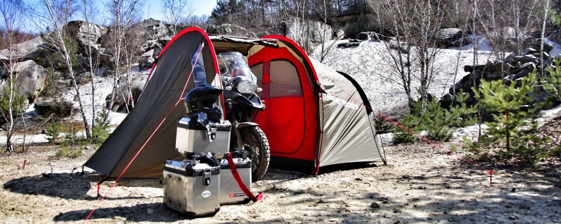 Campeggio in MOTOTENT