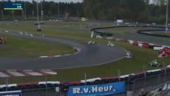 Campionato Europeo Fia Kart Ok-Junior 2021, Gent: il video dell'incidente