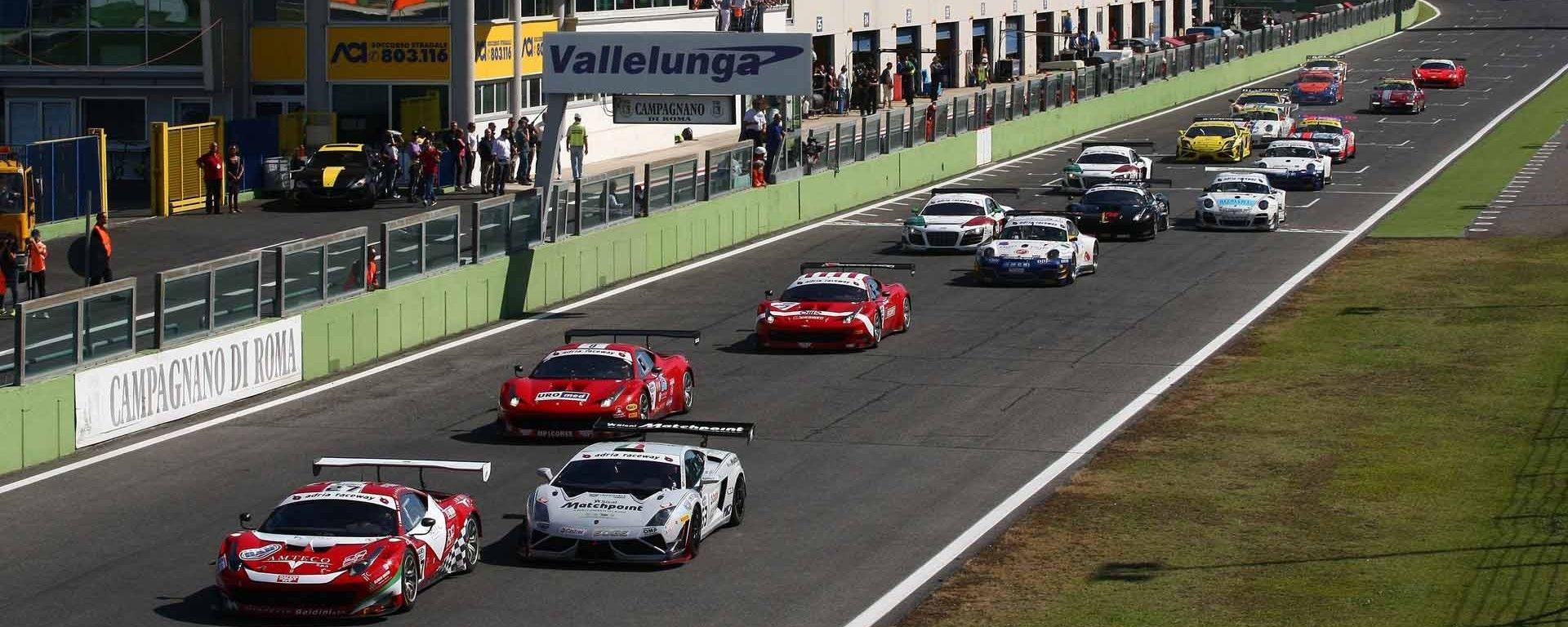 Campionato GT Italiano 2017: Circuito Vallelunga