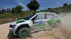 Scandola e D'Amore con la Skoda Fabia R5 dominano gara 1 al rally Adriatico