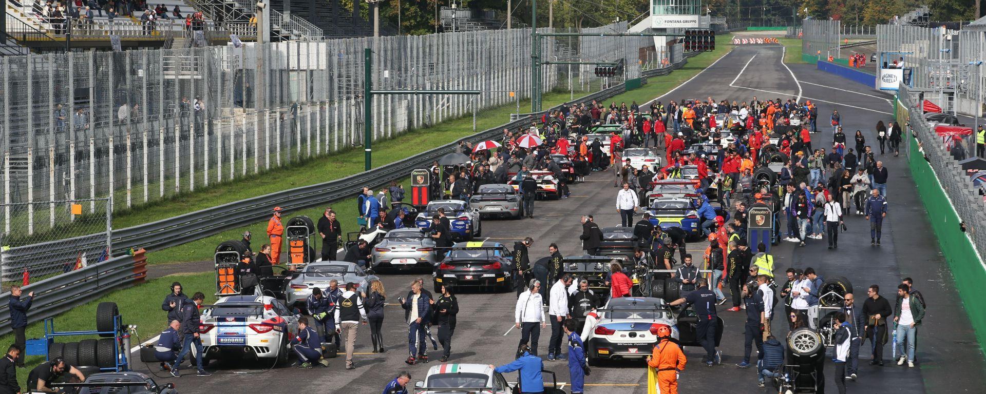 Campionato Italiano GT 2019, la griglia di partenza nell'appuntamento di Monza