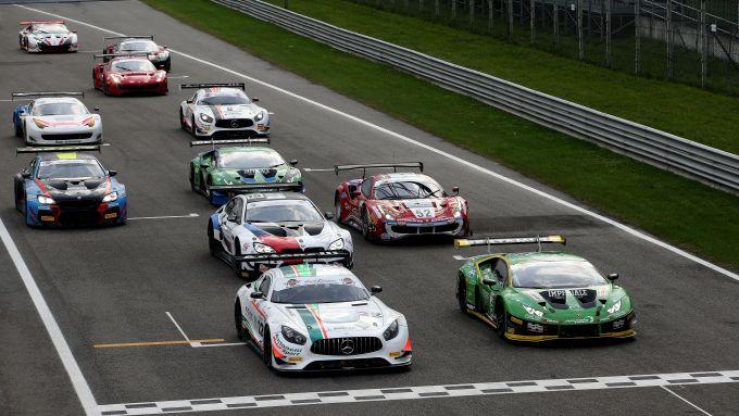 Campionato Italiano GT 2019, Monza: partenza di gara-2