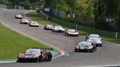 Campionato Italiano GT in pista a Imola