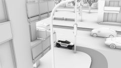 Canyon Future Mobility Concept ambientato in città