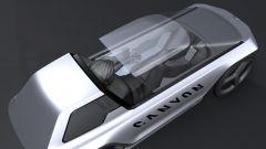 Canyon Future Mobility Concept: visto dall'alto