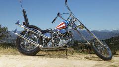 Captain America Panhead Chopper